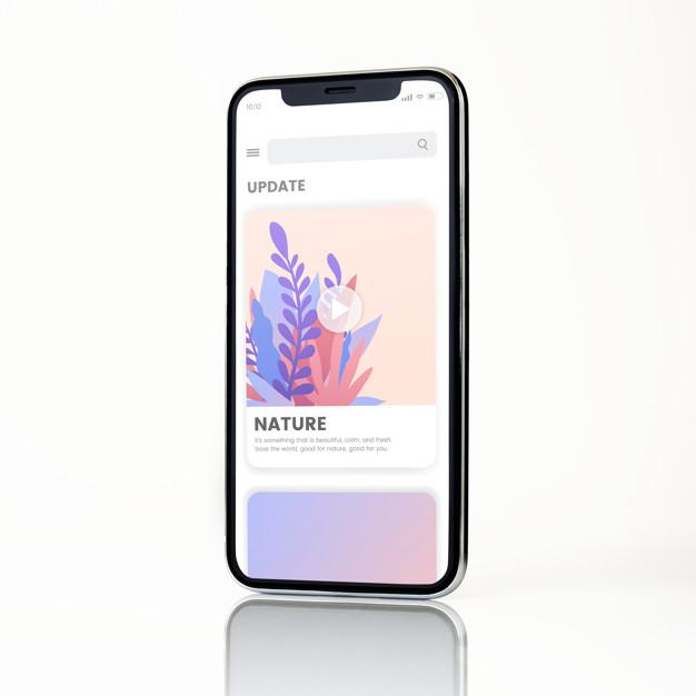 thiết kế app mobile